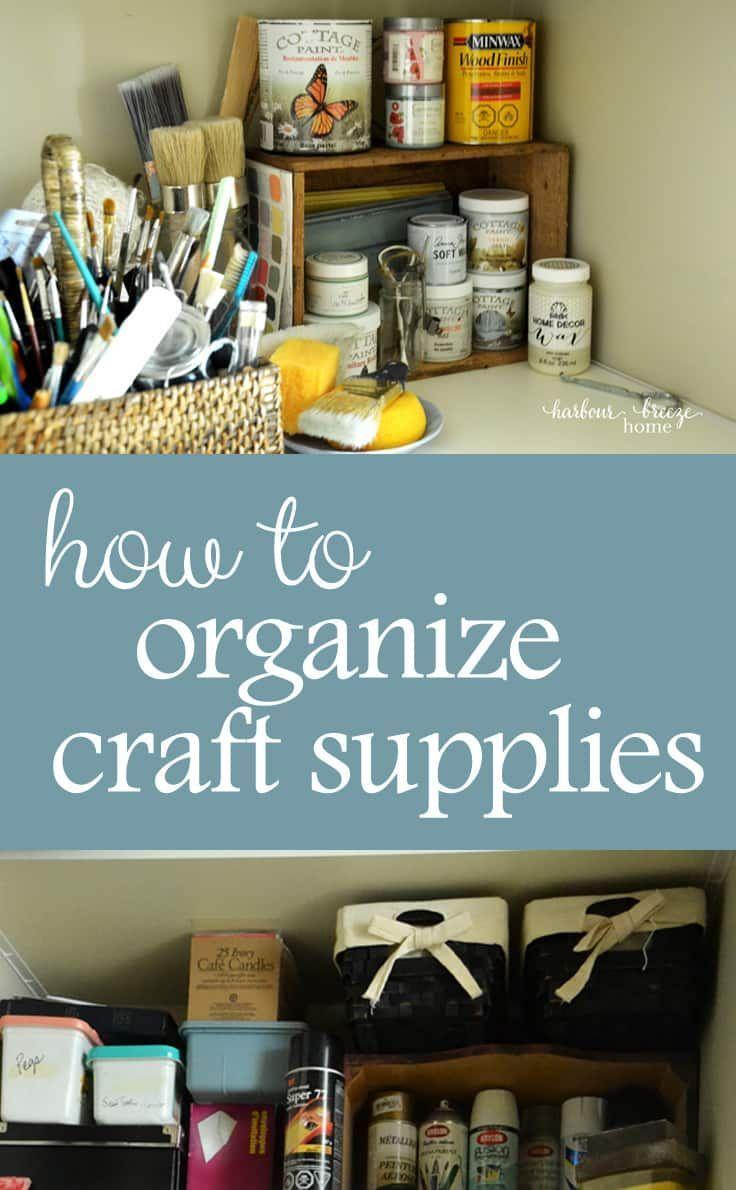 393 best Craft Room Inspiration images on Pinterest | Craft rooms ...