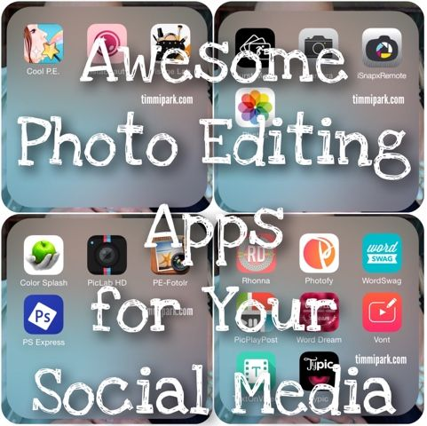 From Sweets To Clean Eats: My Favorite Photo Editing Social Media Apps iPhone Social Media Apps Beachbody Coach