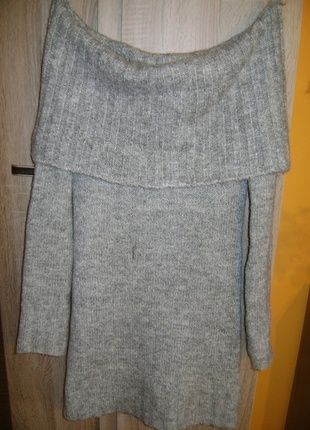 Kup mój przedmiot na #vintedpl http://www.vinted.pl/damska-odziez/dlugie-swetry/11764411-sweterek-szary-atmosphere-38