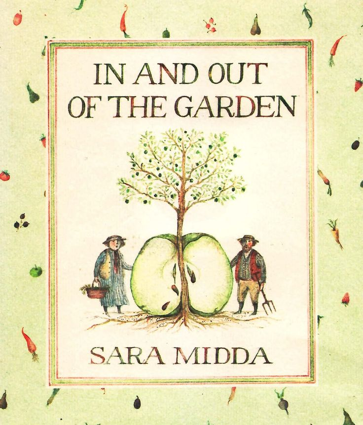 in so many words...: Friday's Forgotten Books: IN AND OUT OF THE GARDEN (1981) by Sara Midda