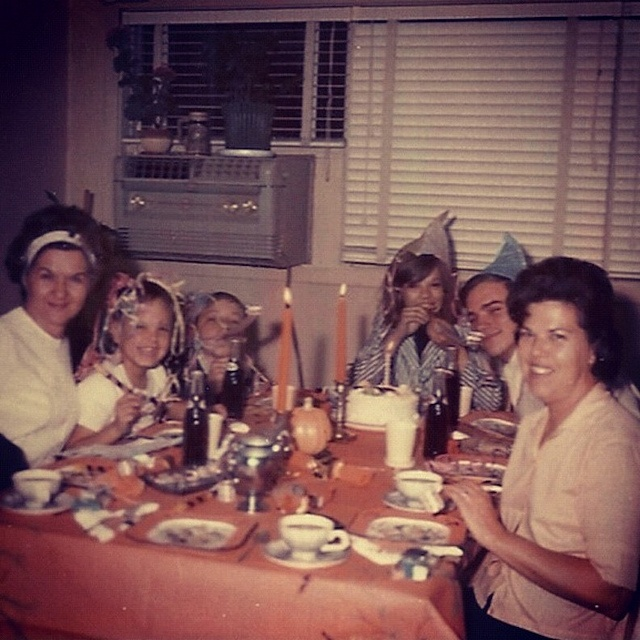 Vintage Photo 1960s Kitsch People At Birthday Party http://www.pinterest.com/Ody45/1day-in-the-1960s/