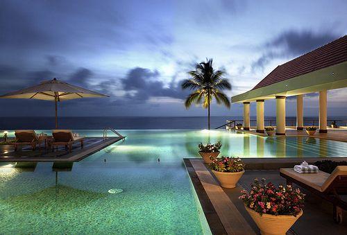 .: Beaches Resorts, Beautiful Scenery, Goa India, Best Beaches, Kerala, Travel, Paradise, Luxury Hotels, Infinity Pools