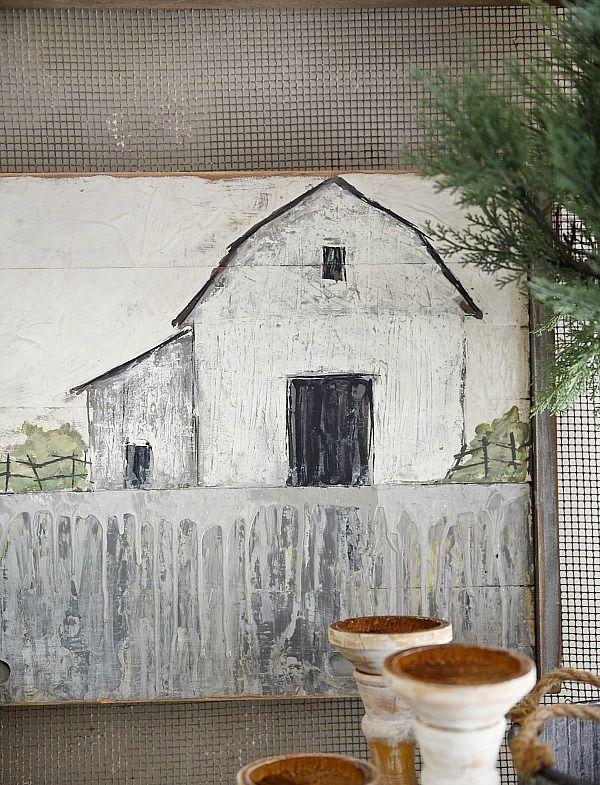 Barn Painting |Deann Hebert