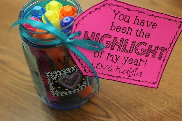 Kindergarten Smiles: Teacher Appreciation [Free Gift Tags and Teacher Questionnaire]