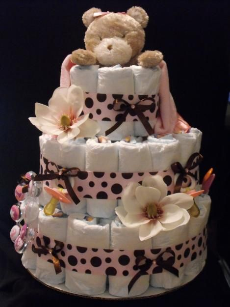 Baby Gift Cakes Uk : Best images about baby nappy gift idea on