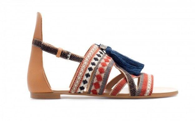 Sandali etnici Zara