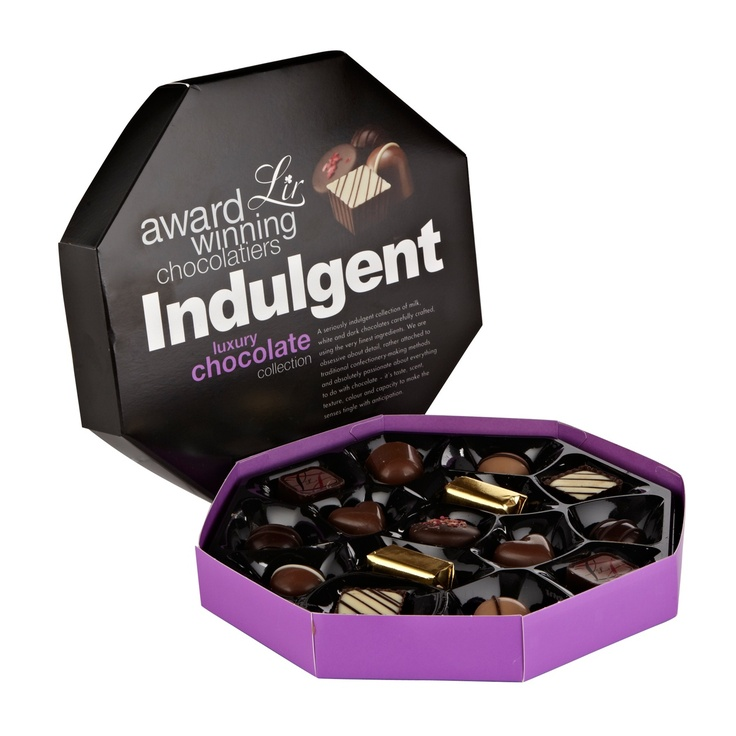 She deserves a delicious treat like these Lir indulgent luxury chocolates.