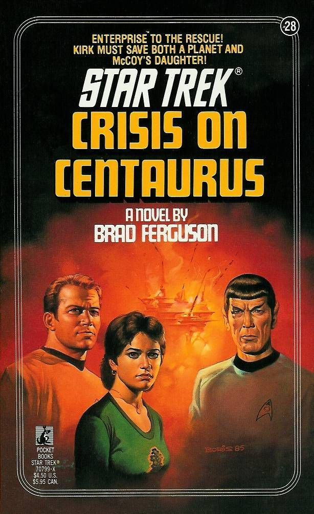 """Crisis on Centaurus (Star Trek, No 28)"" av Brad Ferguson"
