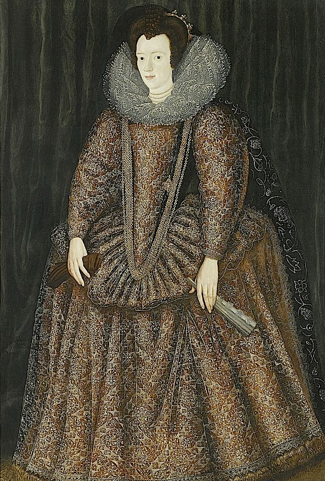Lady Elizabeth Hastings attributed to Sir William Segar (auctioned by Sotheby's).