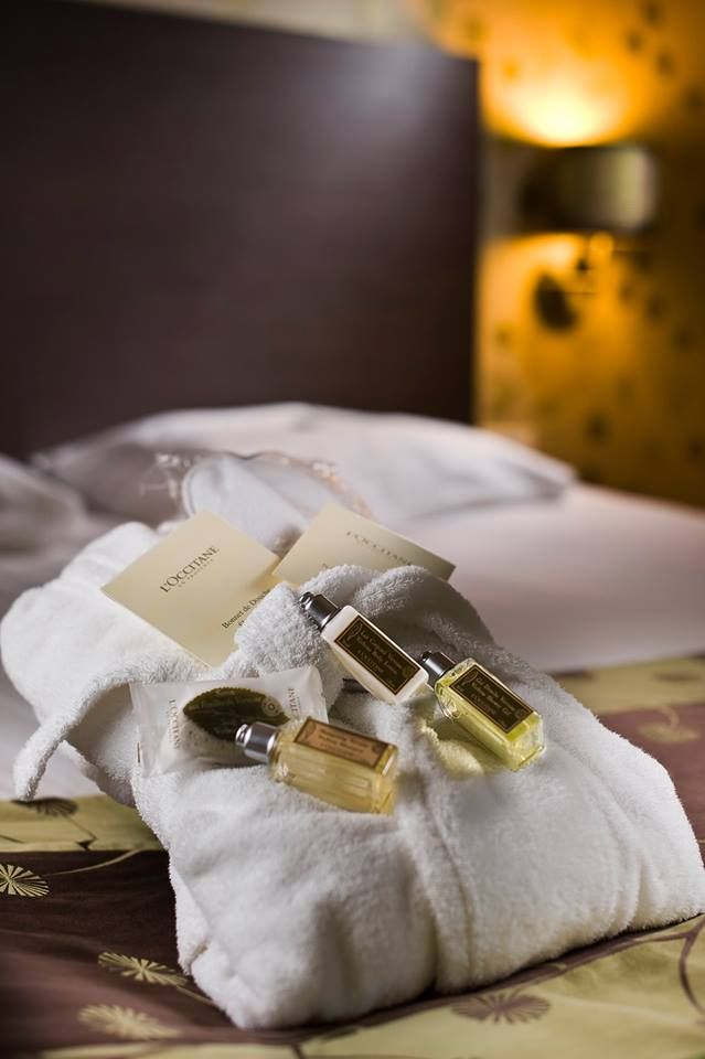 Stay with us and pamper yourself with our L'Occitane amenities!