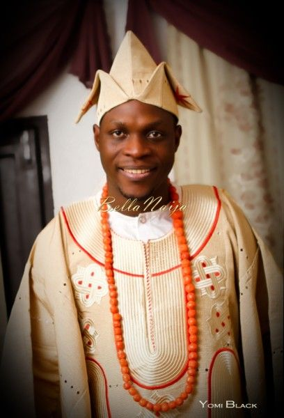 Bellanaija groom bisoye yomi black photography fabrics by for Yoruba architecture