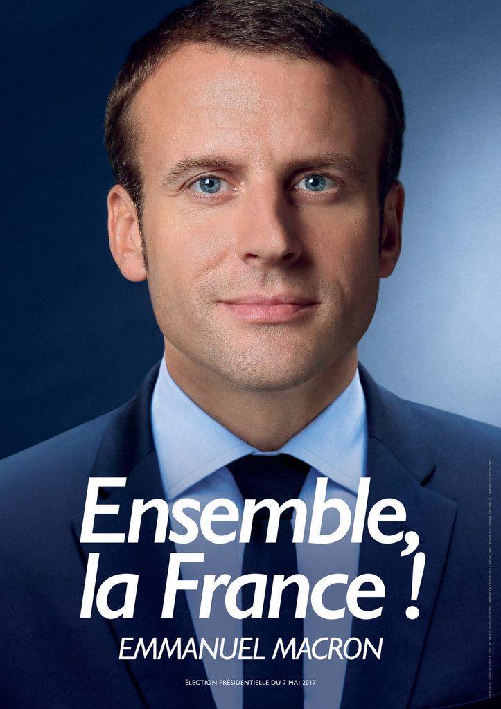 Une réunion de soutien à Emmanuel Macron.