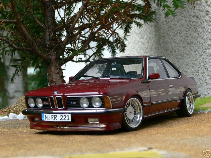 BMW e24 m635csi with alpina alloys and bbs front spoiler. Alpina tuned? Camino red. One of the nicest red original paints for the six series.