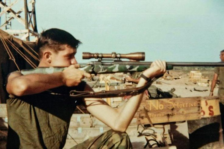 "Charles Benjamin ""Chuck"" Mawhinney (born 1949) is an Oregon-born American who served in the United States Marine Corps as a sniper during the Vietnam War."