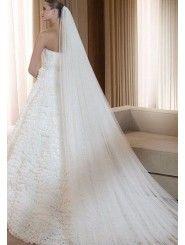 Long Wedding Veil 004