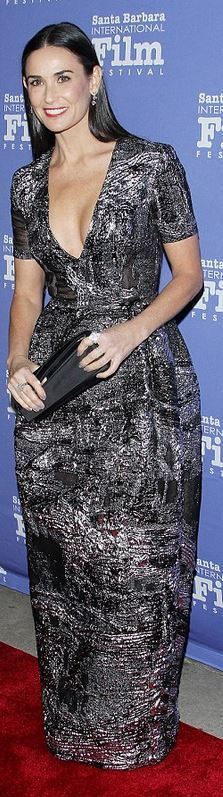 Demi Moore: Dress – Prabal Gurung Purse – Christian Louboutin Shoes – Brian Atwood Jewelry – Norman Silverman