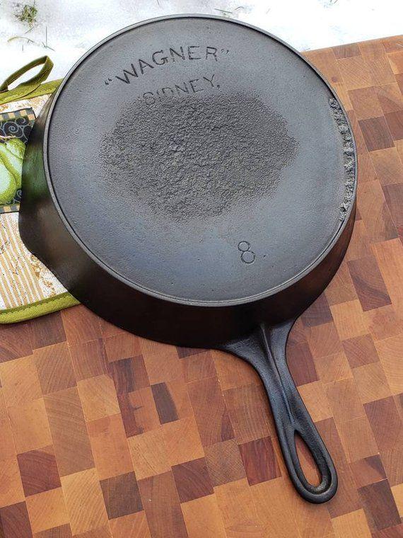 Wagner Ware 8 Cast Iron Pan It Cast Cast Iron Cast Iron Cookware