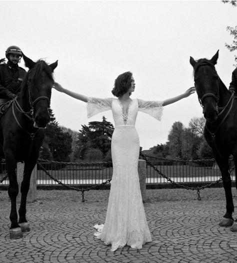 Liz Martinez Bridal Collection - Milan 2015 - Belle The Magazine