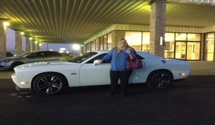"""We came here to buy a Dodge Challenger .. Thank you Pat Durham for the no haggle no hassle approach! We knew what we wanted and Pat made the process quick and painless!""- Happy Bonham Chrysler Customer"