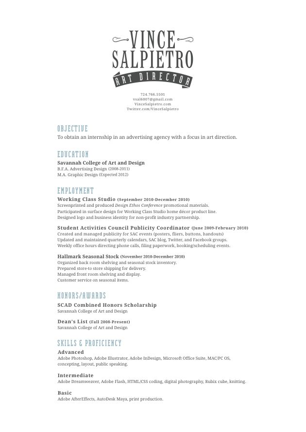 12 best design elements résumé inspiration images on Pinterest - how to put together a resume