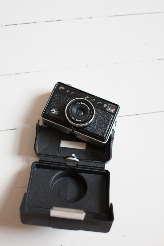old camera from Absolutely white
