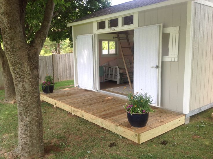 Best She Shed I Want One Images On Pinterest Garden