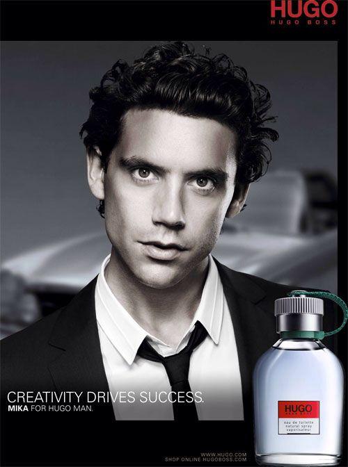Mika for Hugo Boss