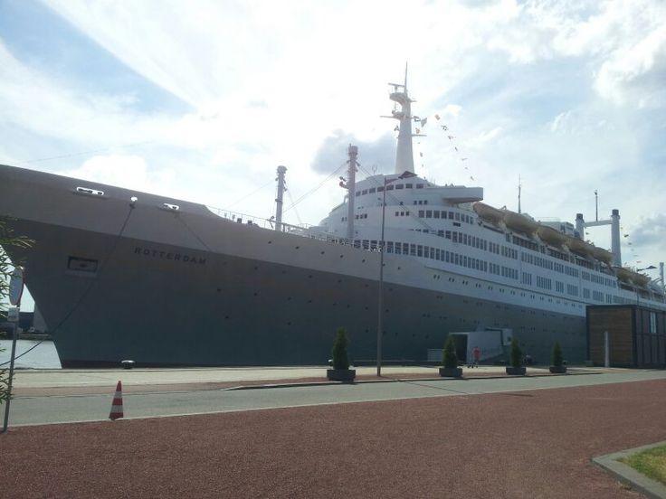 Het SS Rotterdam, Katendrecht.