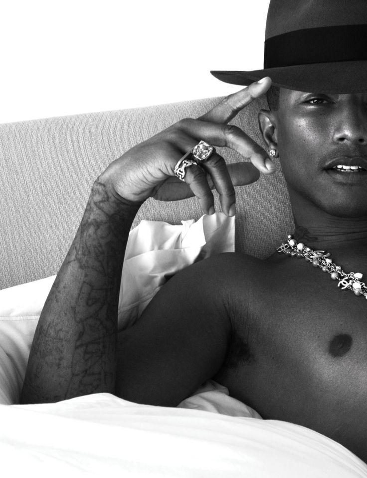 Joe Manganiello, Pharrell, David Gandy + More Go Shirtless in Bed for W Magazine image w magazine photos 0003