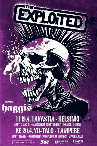 The Exploited in Finland 2011