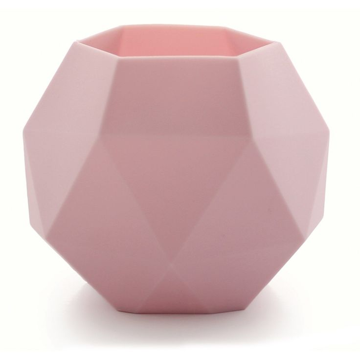 Fasett ljuslykta, ljusrosa – KG Design – Köp online på Rum21.se