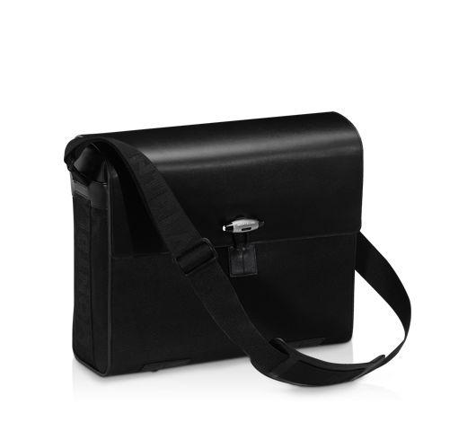 Montblanc presents:Montblanc NightFlight Messenger Bag 8763