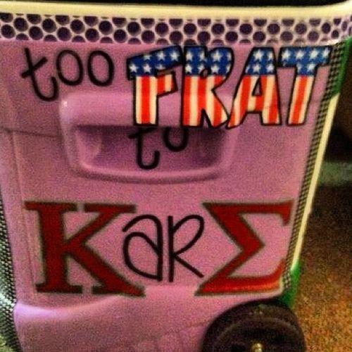 Kappa Sigma cooler