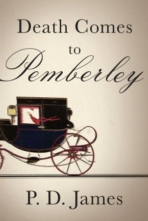 Death Comes to Pemberley by P.D. James. The novel is a murder mystery that takes place six years after Darcy and Elizabeth's marriage in Pride and Prejudice.