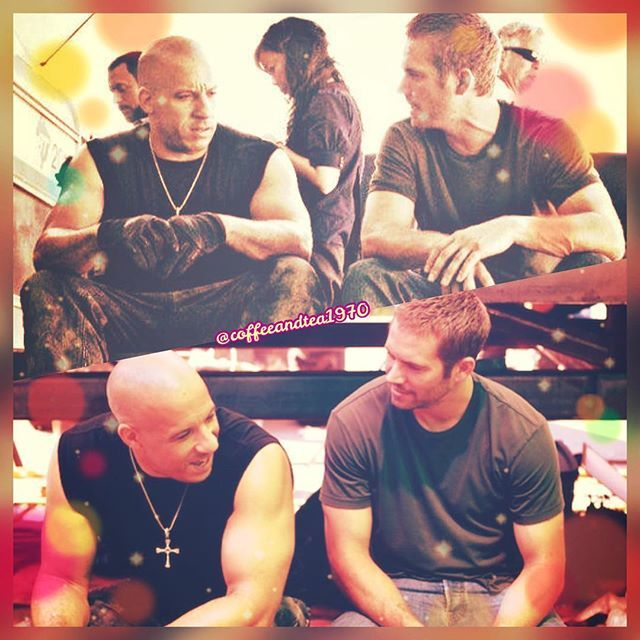 Brothers forever 😊☺️💖💖💙💙💪🙌👬 #happytorettotuesday #fastandfurious5 #fast5 #onset #paulwalker #vindiesel #brianoconner #domi... - 🇰🇷Jeong Kwon👩🏻☕️💖 (@coffeeandtea1970)