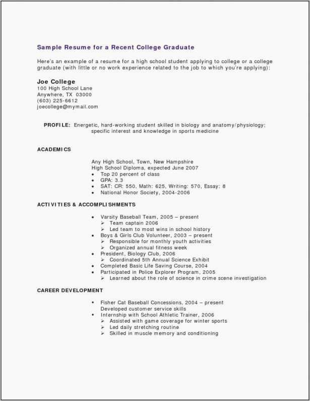 31 Recent College Graduate Resume Cover Letter Templates