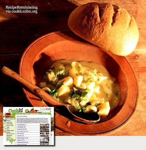 Medieval Monday - Vegetable Pottage