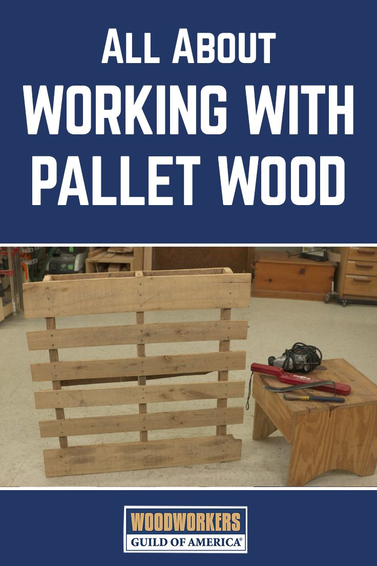 Working with pallets 5 essential woodworking power tools that won - Working With Pallet Wood