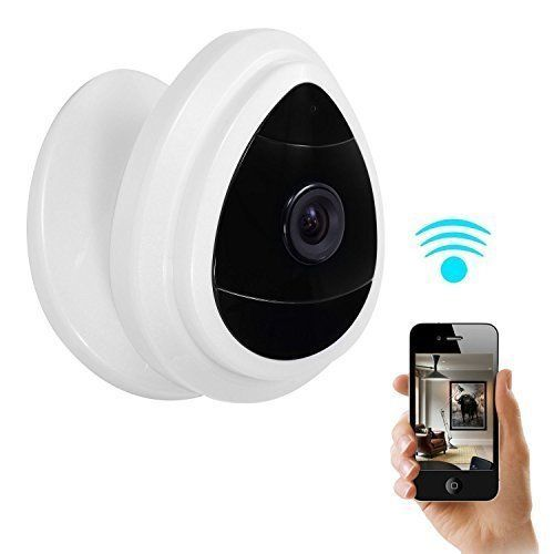 Mini IP Camera WiFi Baby Monitor Home Surveillance System Wireless Day Vision #IPCameraWiFiBabyMonitor