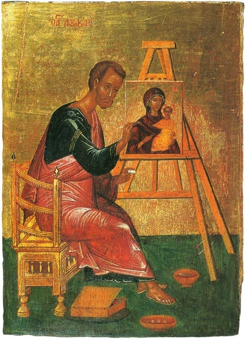 Luke, the Blessed Physician   (and the first iconographer)