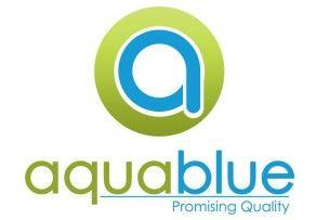 Logo Design for AquaBlue Silica manufacturers.