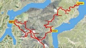 Marathon Trail  Lake Como Map