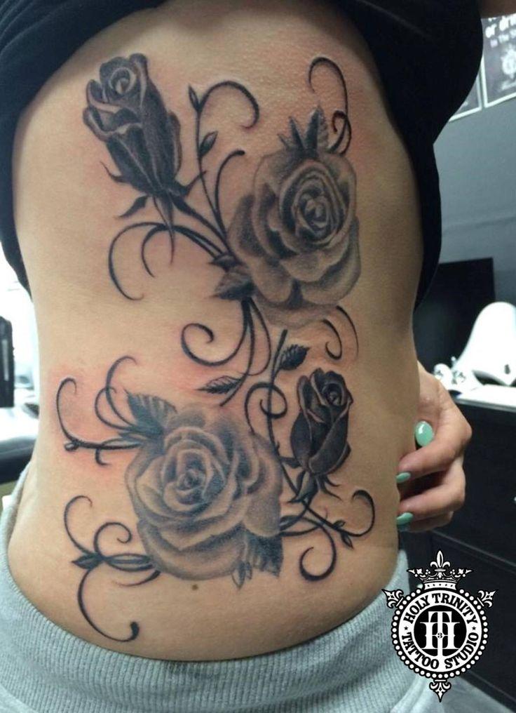 Rose tattoo by Greg at Holy Trinity Tattoos   Body tattoo