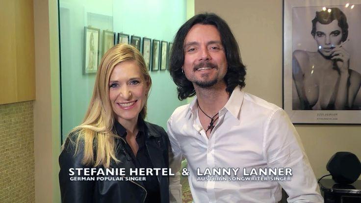Stefanie Hertel & Lanny Lanner attended NYC exhibition @ Konstantin ART ...