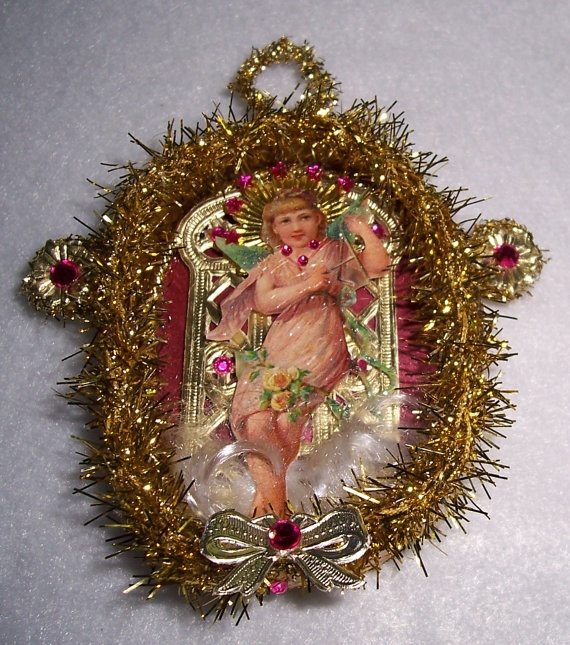 Victorian Christmas Decorations: 107 Best Images About Handmade Christmas Tree Ornaments