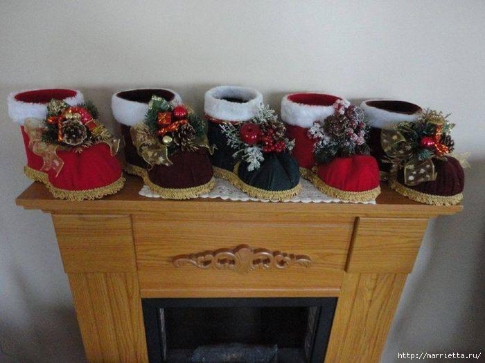 Ötletes Blog: Karácsony: Flakonból karácsonyi lábbelik