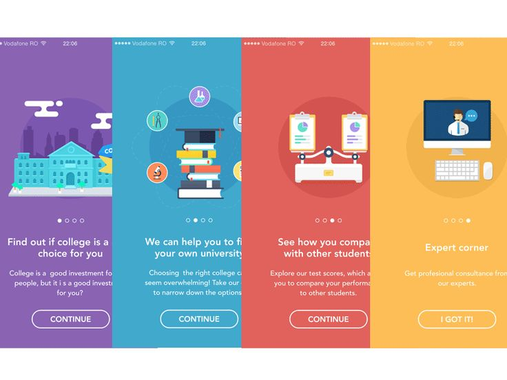 Onboarding animations by Virgil Pana