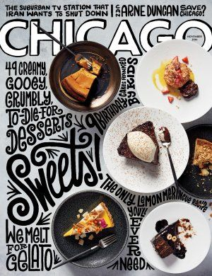 Chicago Magazine - Food cover for November 2016