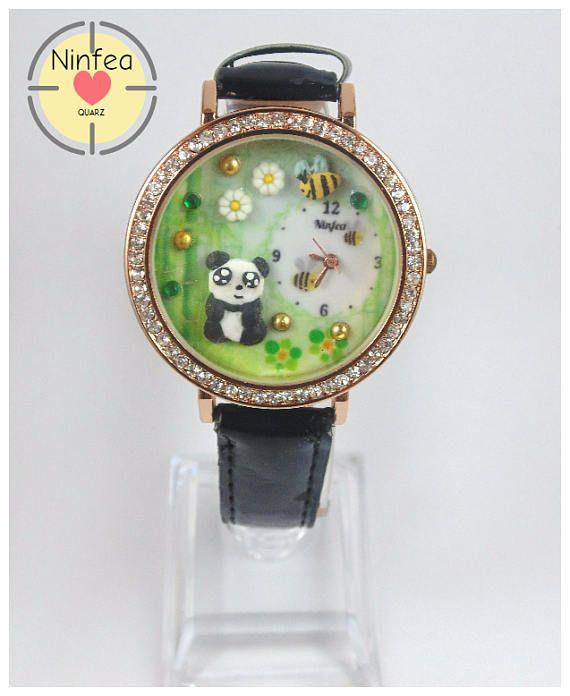 Orologio modello  panda  3d Wristwatche Clay   panda