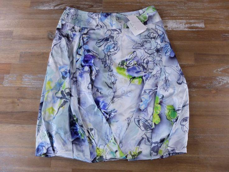 auth CELINE Paris silk print floral bubble skirt - Size 38 FR / 6 US - NWT   Clothing, Shoes & Accessories, Women's Clothing, Skirts   eBay!